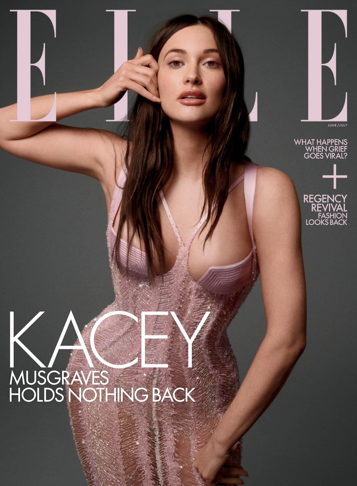 Kacey Musgraves covers Elle US June July 2021 by Cass Bird