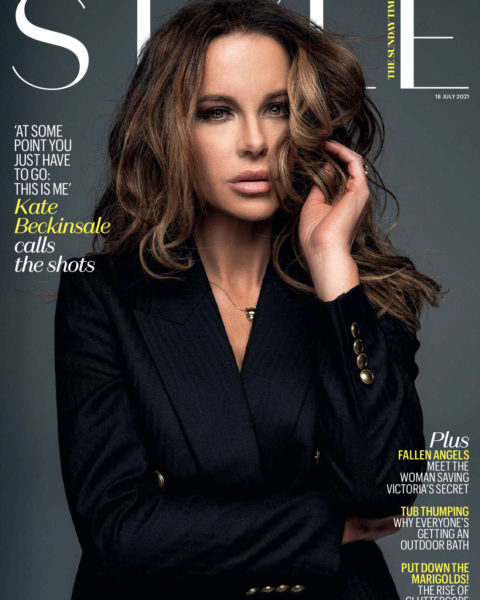 Kate Beckinsale covers The Sunday Times Style July 18th, 2021 by Damon Baker