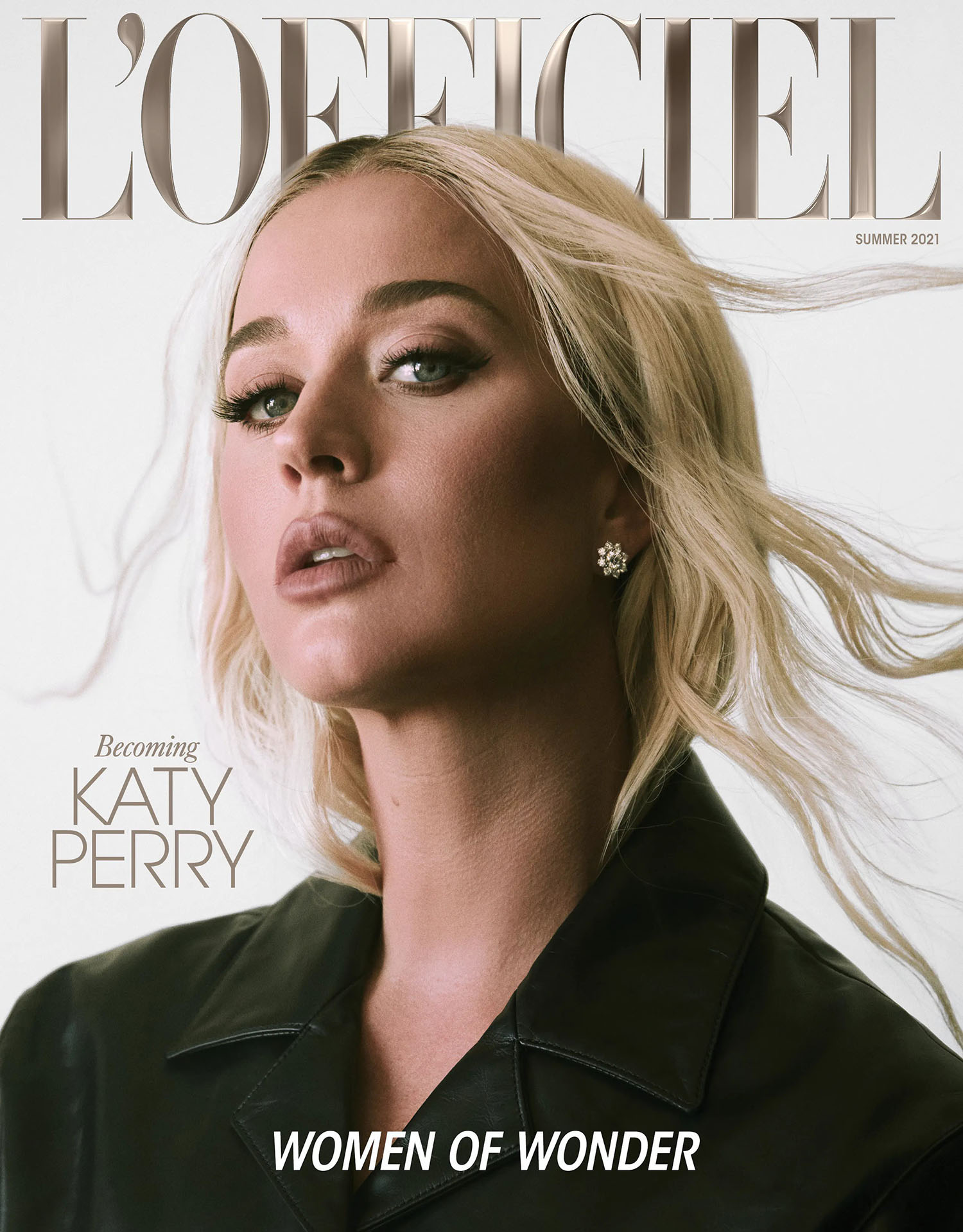 Katy Perry covers L'Officiel Global Summer 2021 by Greg Swales