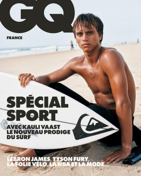 Kauli Vaast covers GQ France July 2021 by Johan Sandberg
