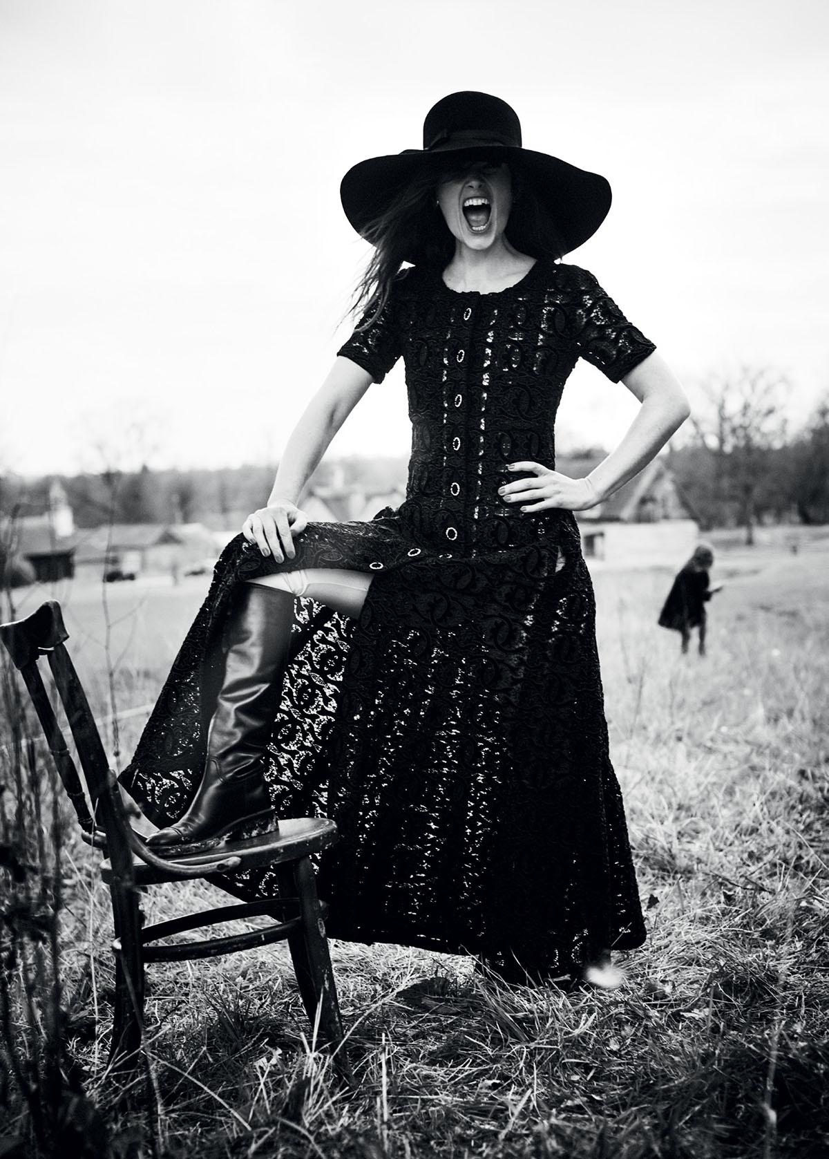 Keira Knightley covers Harper's Bazaar UK July 2021 by Boo George