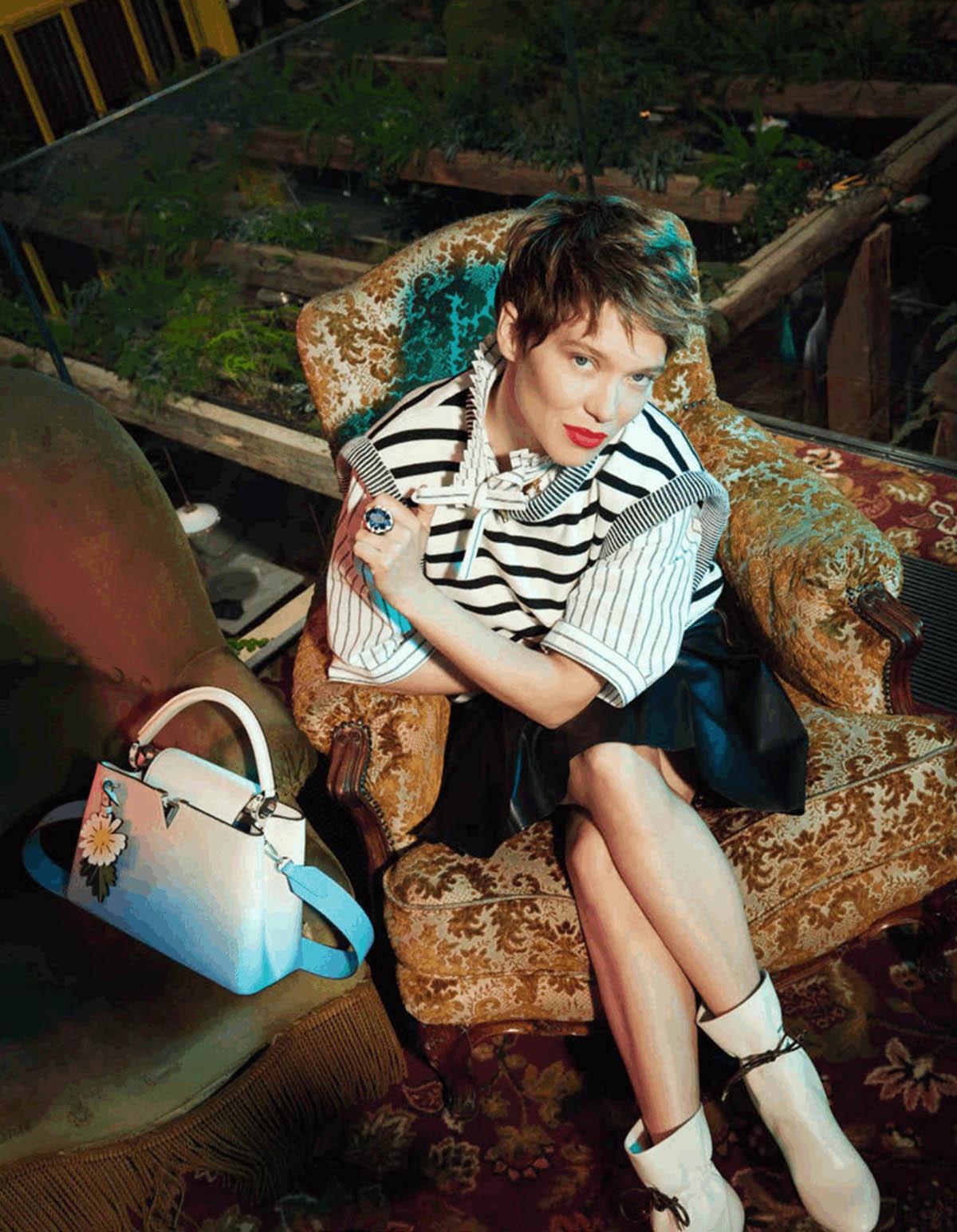 Léa Seydoux covers Madame Figaro July 9th, 2021 by Kourtney Roy