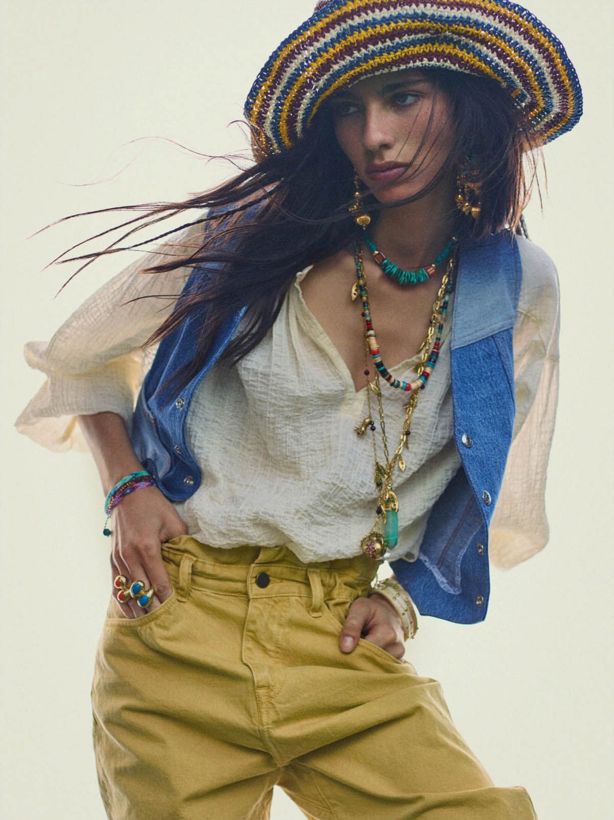 Loli Bahia by Gregory Harris for Vogue Paris June July 2021