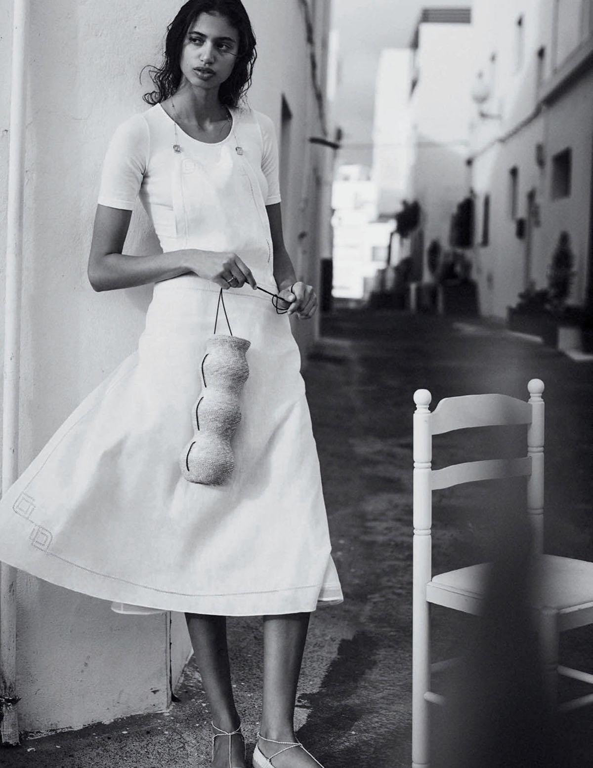 Malika El Maslouhi by Boo George for Vogue Spain June 2021