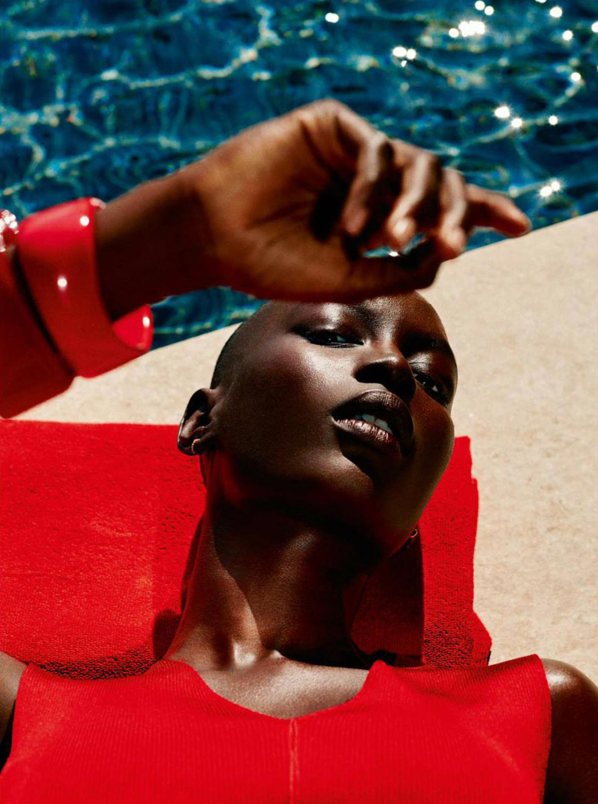 Mame Anta Wade by Laurie Bartley for Elle France July 9th, 2021
