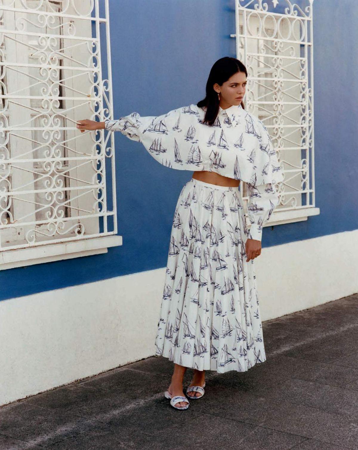 Maria Miguel by Santi de Hita for Vogue Spain July 2021