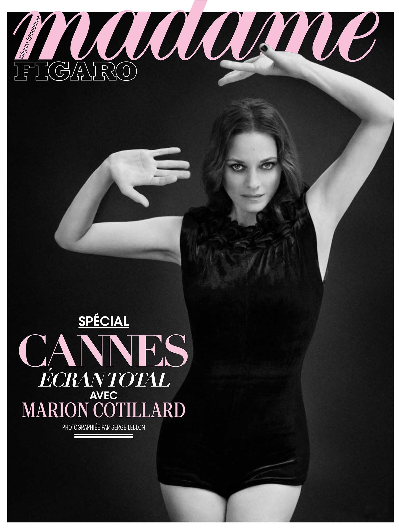 Marion Cotillard covers Madame Figaro July 2nd, 2021 by Serge Leblon