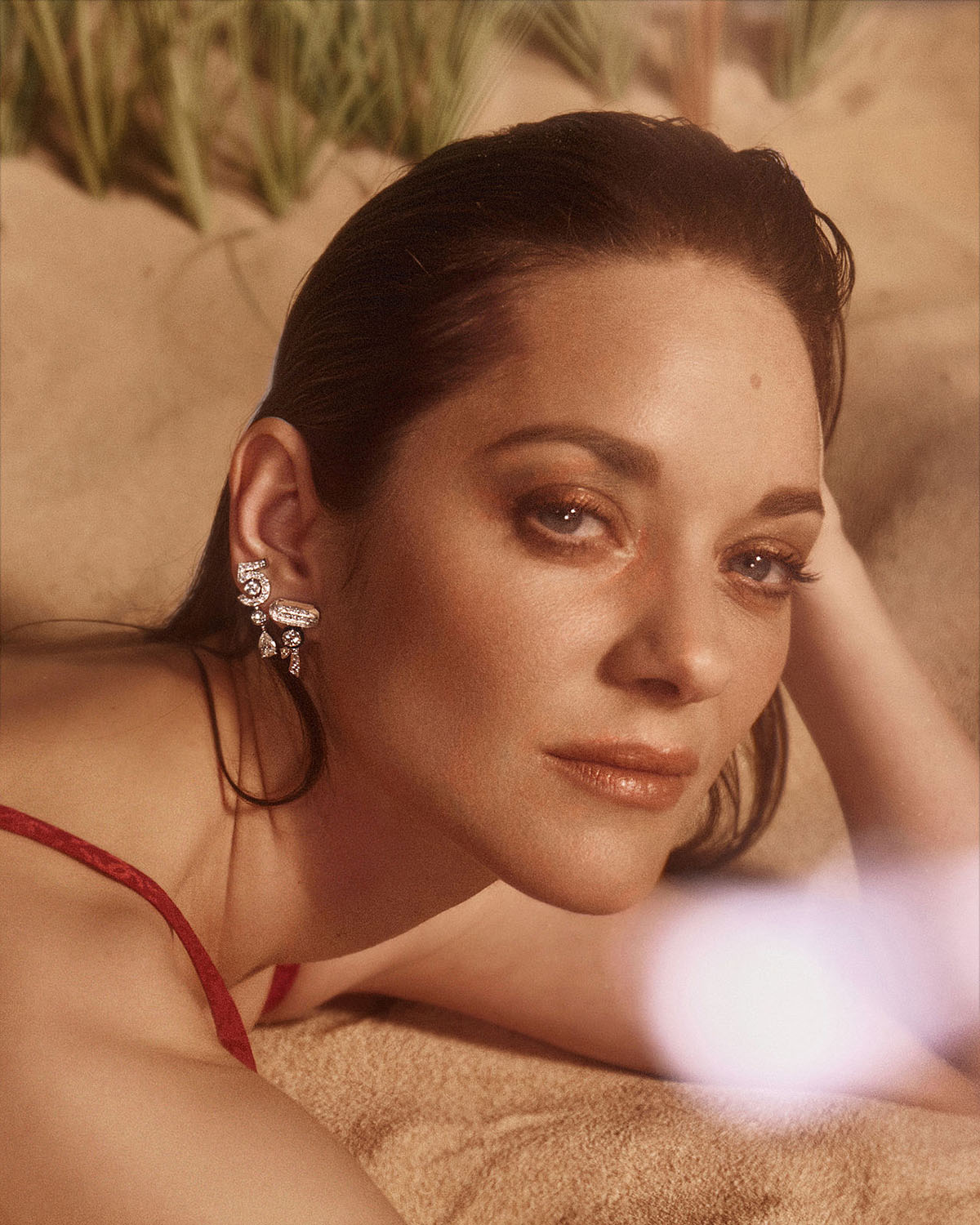 Marion Cotillard covers Marie Claire France July 2021 by Van Mossevelde + N