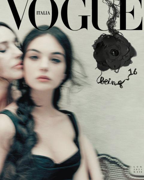 Monica Bellucci and Deva Cassel cover Vogue Italia July 2021 by Paolo Roversi