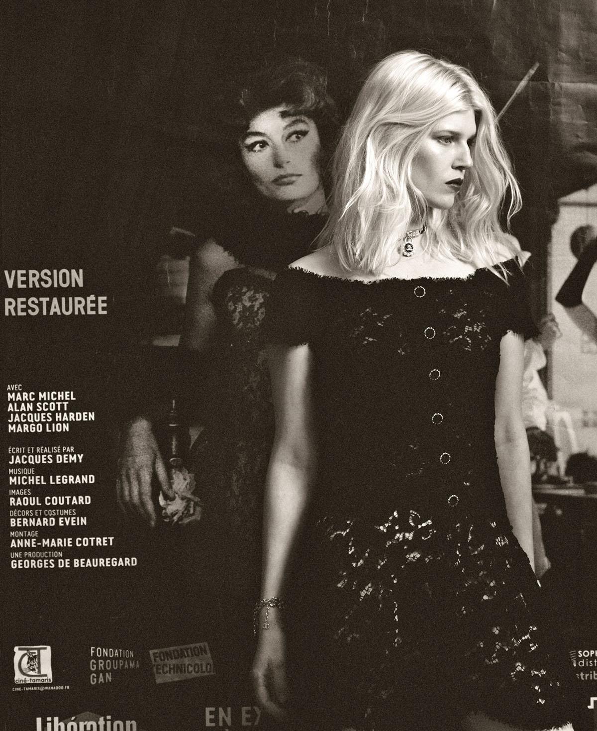 Ola Rudnicka covers Vogue Poland June 2021 by Kuba Ryniewicz