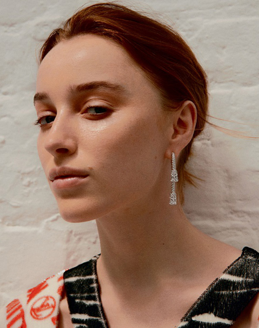 Phoebe Dynevor covers How To Spend It July 10th, 2021 by Thomas Lohr