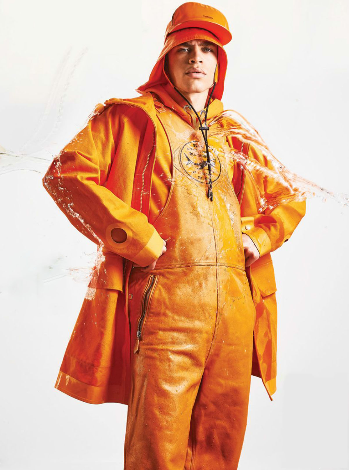 ''Rain On Me'' by Dean Ryan McDaid for Attitude Magazine July 2021