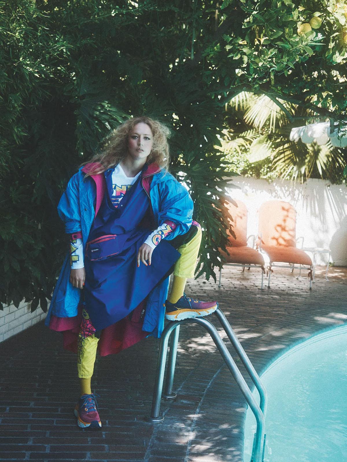 Raquel Zimmermann by Lachlan Bailey for British Vogue July 2021