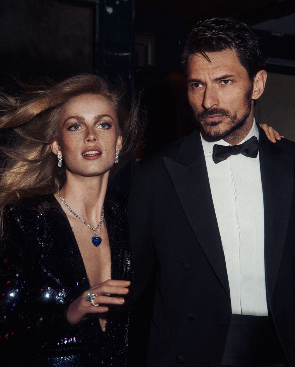 Rianne van Rompaey and Andrés Velencoso Segura by Lachlan Bailey for Vogue Paris June July 2021