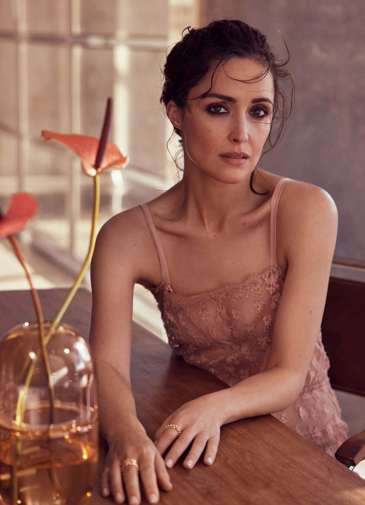 Rose Byrne covers Marie Claire Australia July 2021 by Nicole Bentley