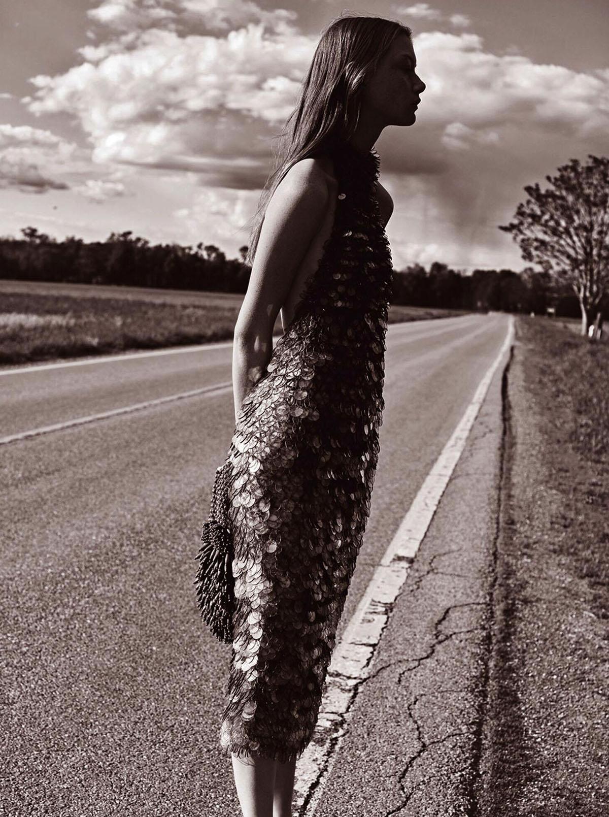 Sara Grace Wallerstedt by Geordie Wood for Vogue Australia July 2021