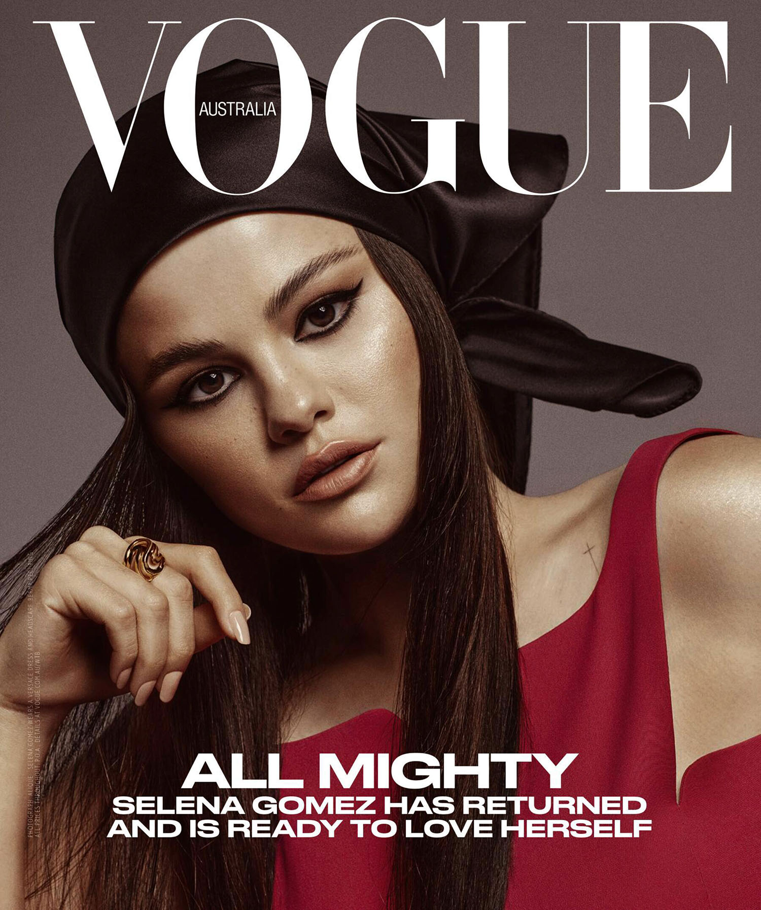 Selena Gomez covers Vogue Australia July 2021 and Vogue Singapore July August 2021 by Alique