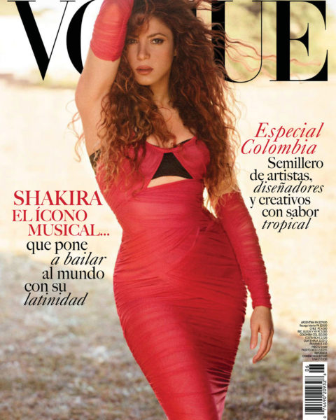 Shakira covers Vogue Mexico & Latin America July 2021 by Nico Bustos