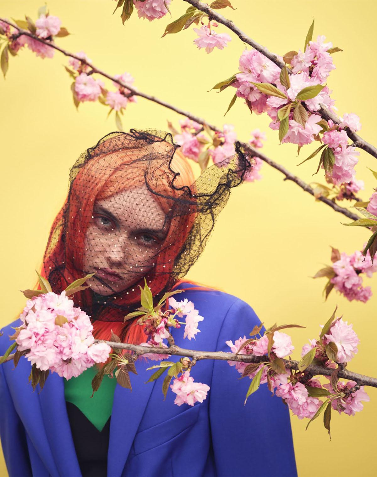 Sofia Steinberg by Nathaniel Goldberg for Vogue Japan July 2021