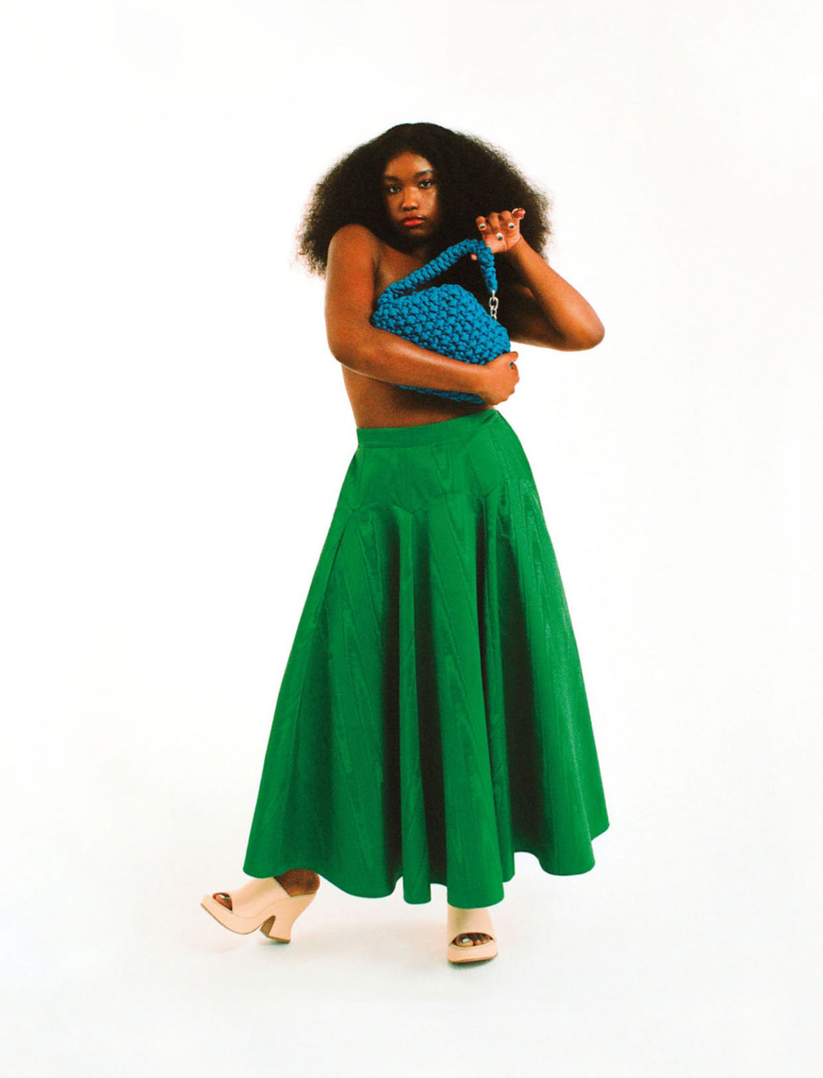 Tatiana Williams by Sofa Álvarez for Elle Mexico July 2021