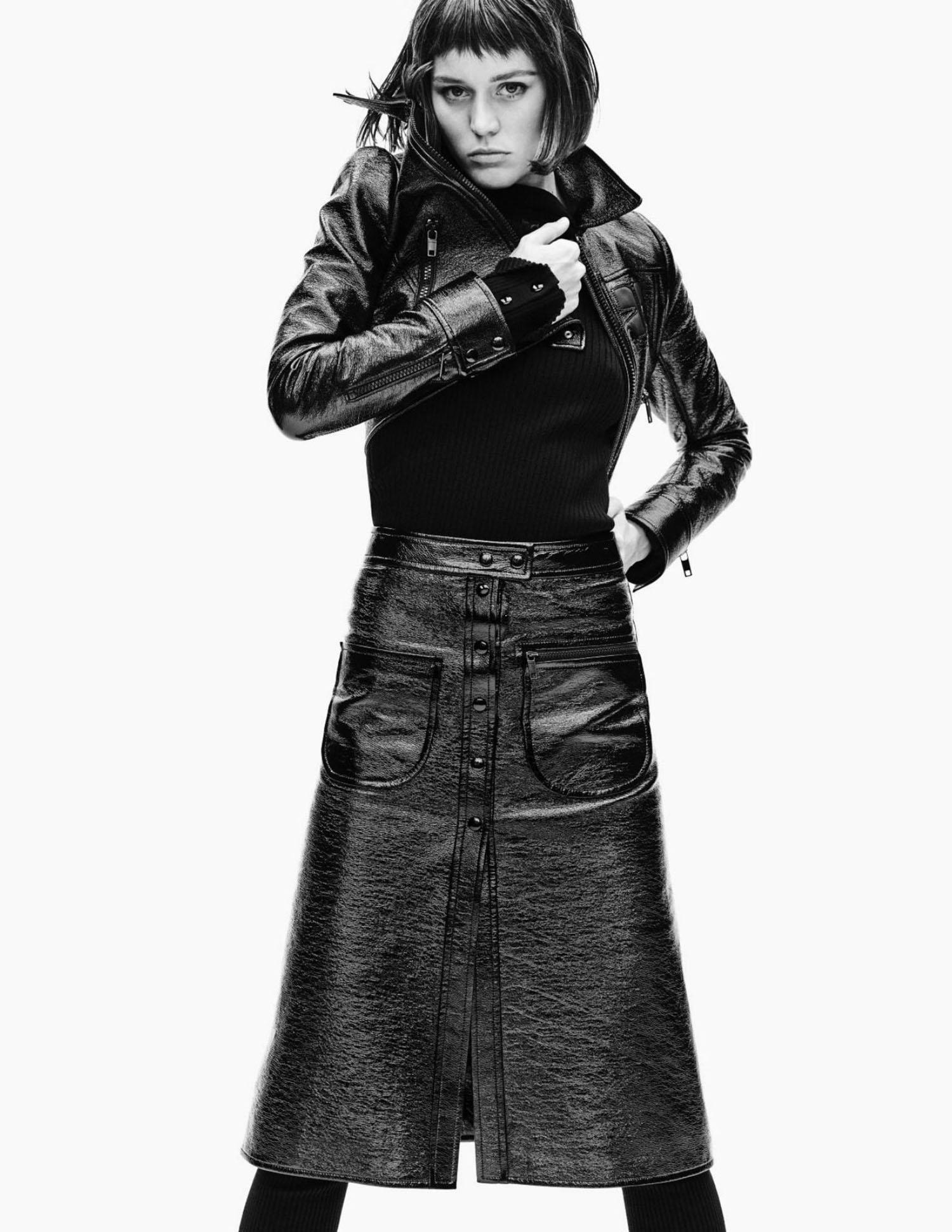 Vivienne Rohner by Nathaniel Goldberg for Vogue Paris June July 2021