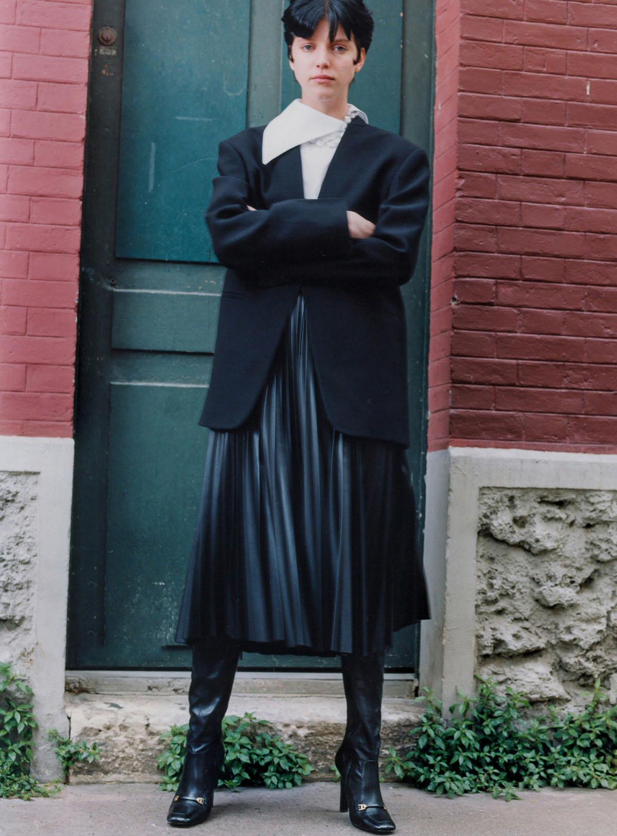 Yuki van Gog by Valentin B. Giacobetti for Vanity Fair France July 2021