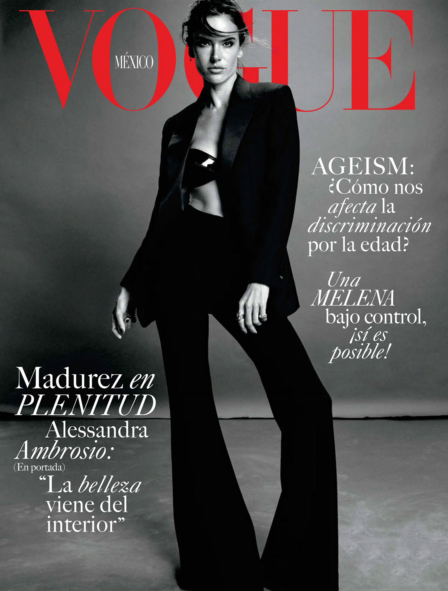 Alessandra Ambrosio covers Vogue Mexico & Latin America August 2021 by Emma Summerton