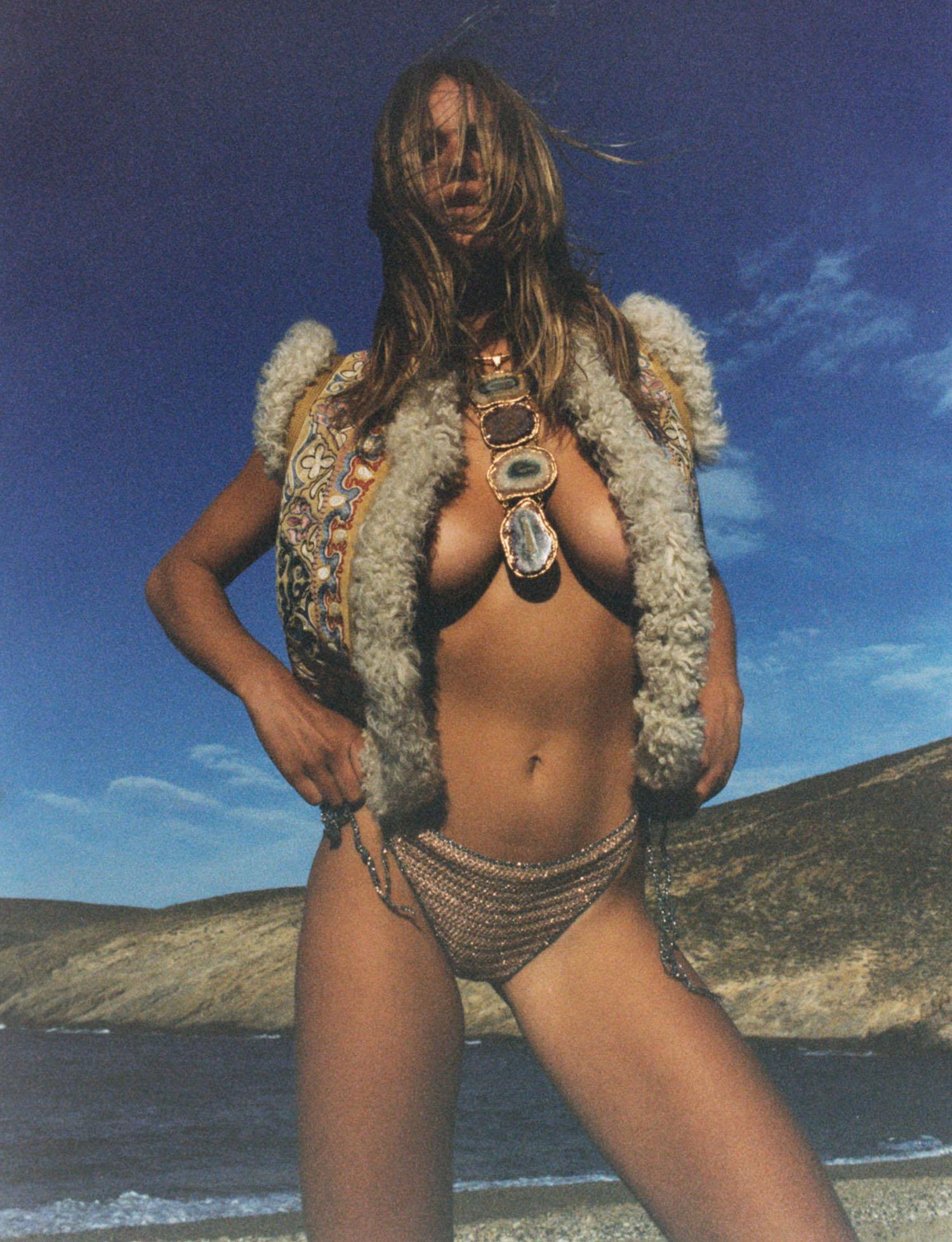 Anna Ewers by Henrik Purienne for Vogue Paris August 2021