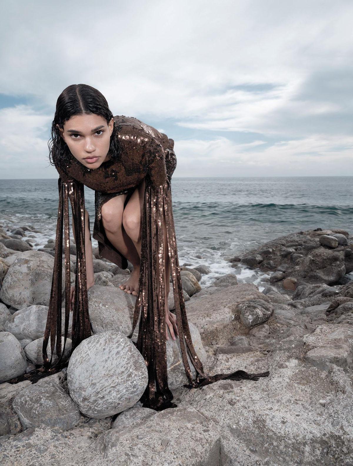 Barbara Valente by Mariya Pepelanova for Numéro June/July/August 2021