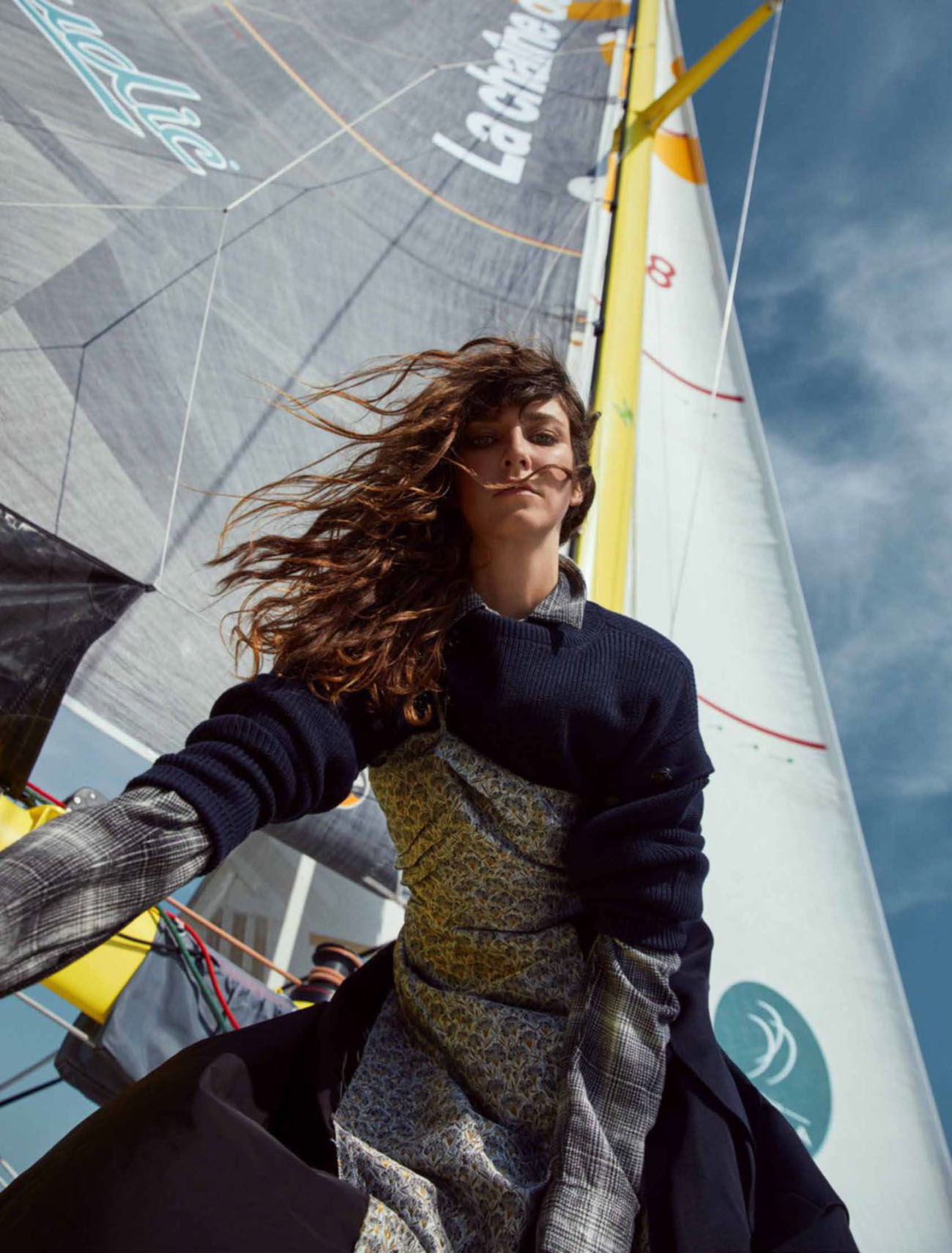 Cris Herrmann by Marc Philbert for Madame Figaro August 27th, 2021
