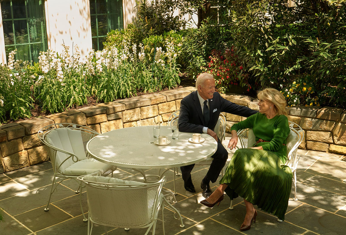 First Lady Dr. Jill Biden covers Vogue US August 2021 by Annie Leibovitz