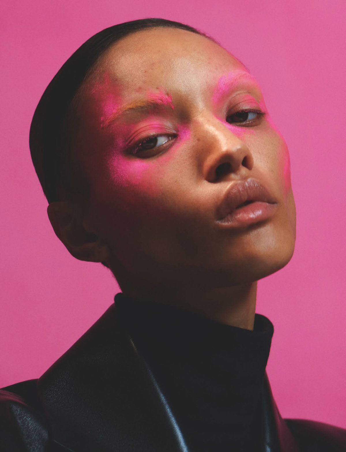 Georgia Palmer by Hanna Moon for British Vogue August 2021