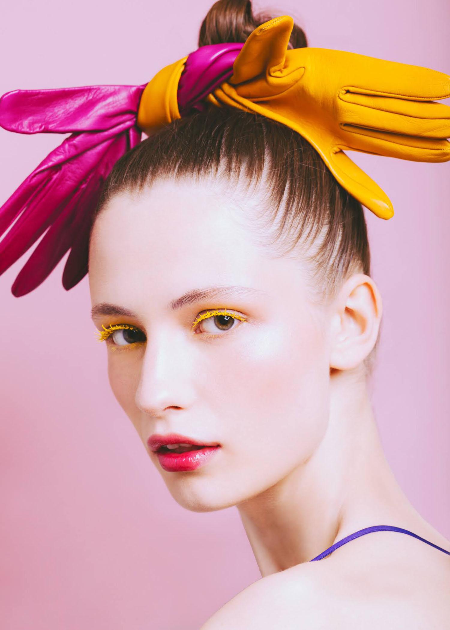 Karina Dziuba by Ana Abril for Vogue Hong Kong July 2021