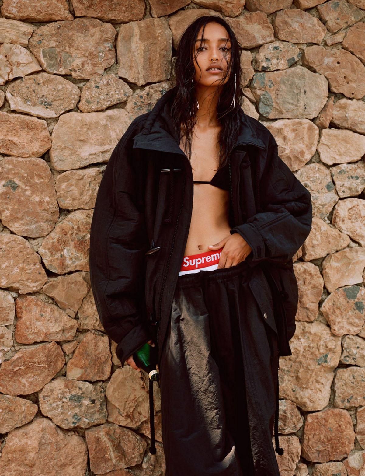 Mona Tougaard by Alasdair McLellan for Vogue Paris August 2021