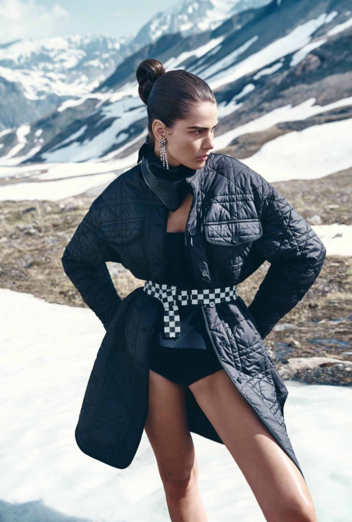 Monica Cima by Thiemo Sander for Madame Figaro August 27th, 2021