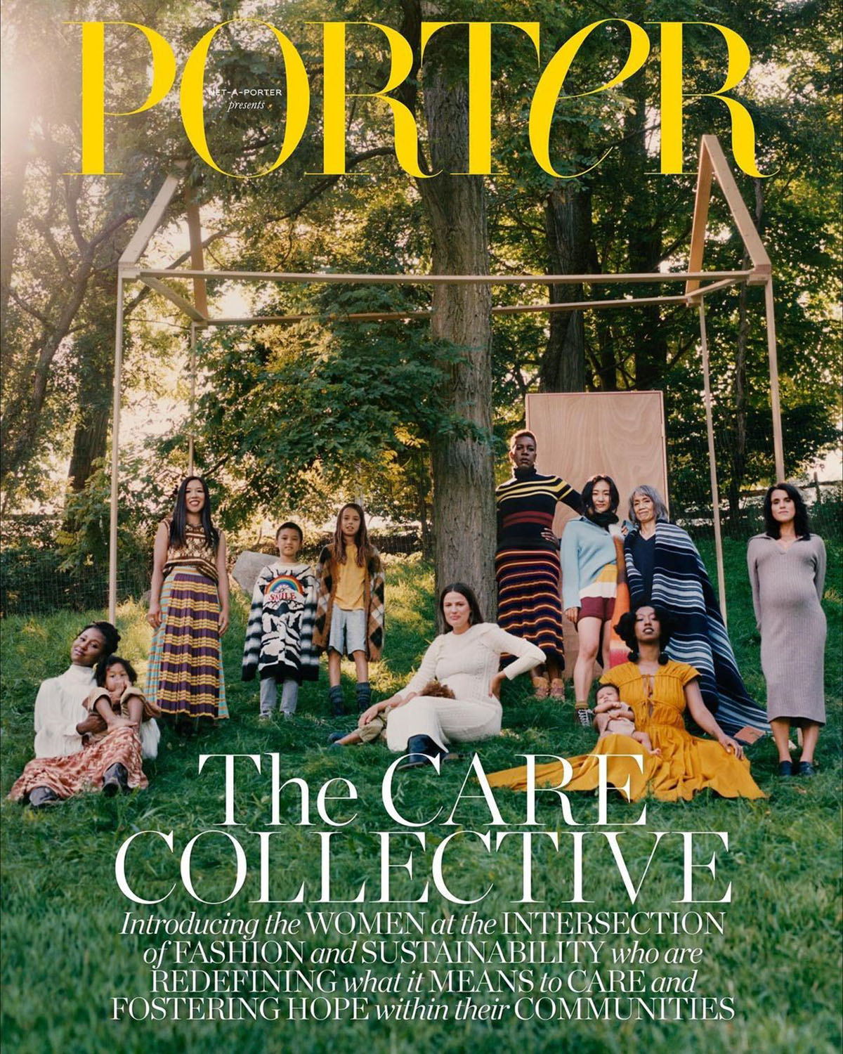 Porter Magazine August 23rd, 2021 covers by Camila Falquez