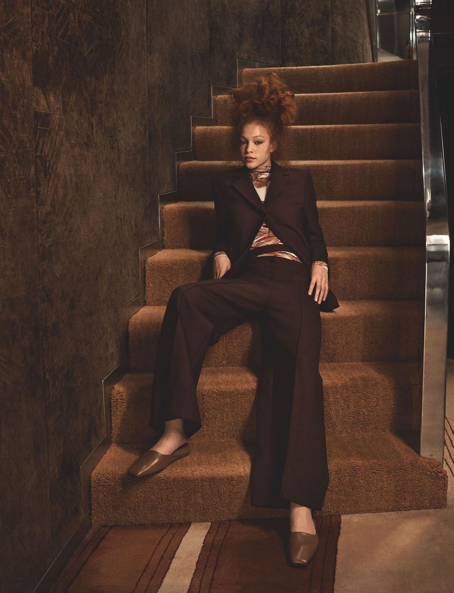 Tianna St. Louis by Craig McDean for British Vogue August 2021