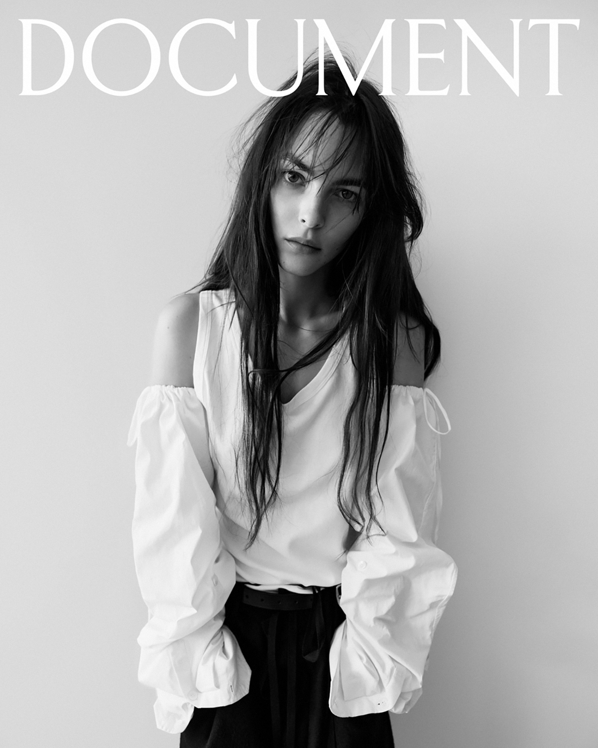 Vittoria Ceretti covers Document Journal Summer Pre-Fall 2021 by Willy Vanderperre