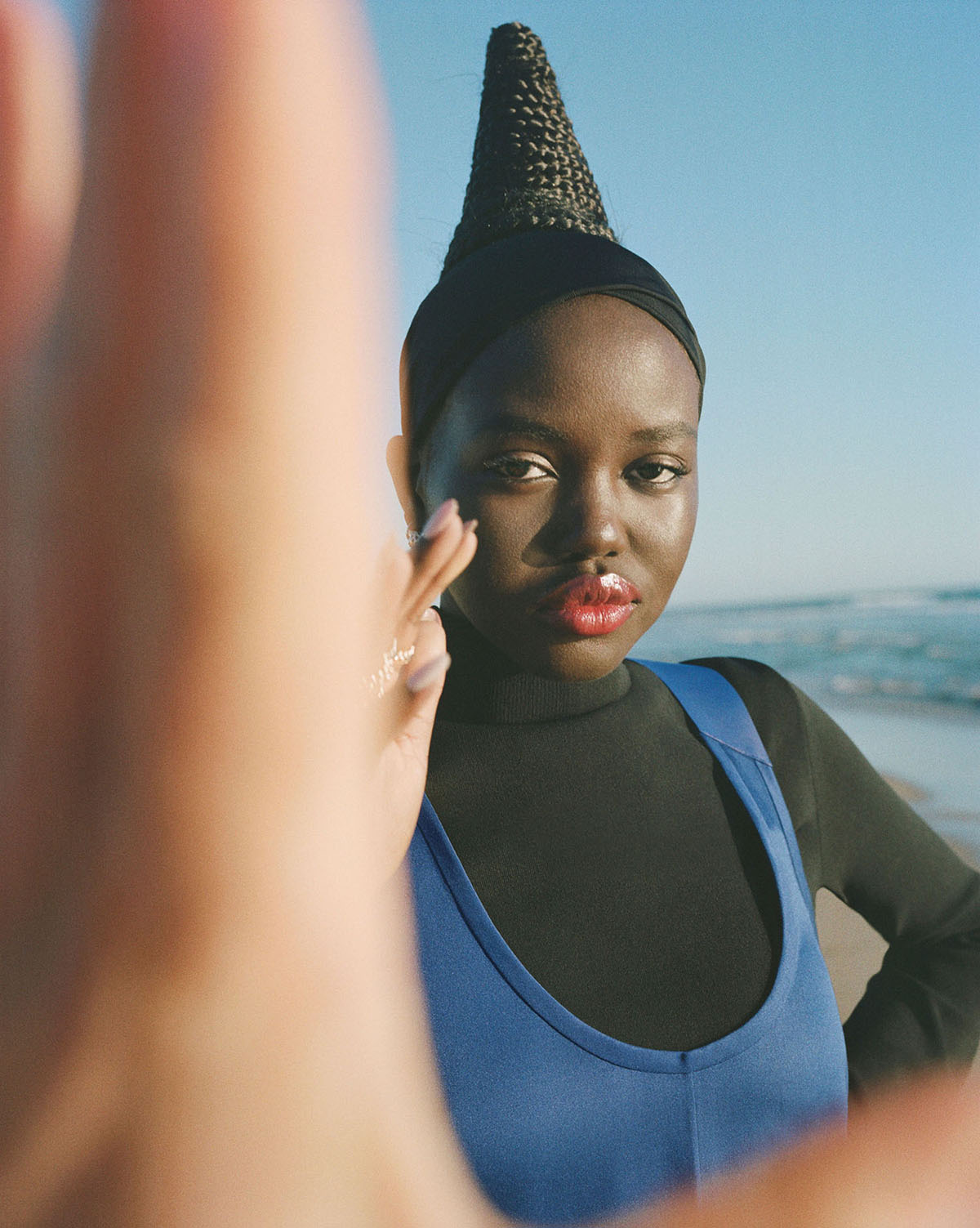 Adut Akech covers Document Journal Summer Pre-Fall 2021 by Theo Wenner