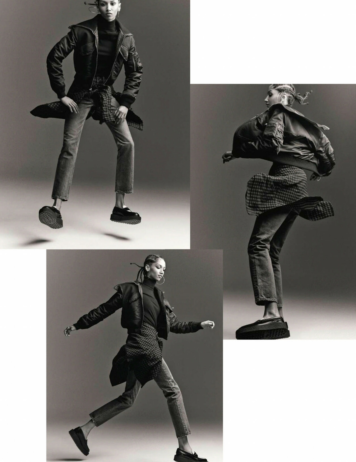 Aiden Curtiss by Tom Schirmacher for Elle France September 24th, 2021