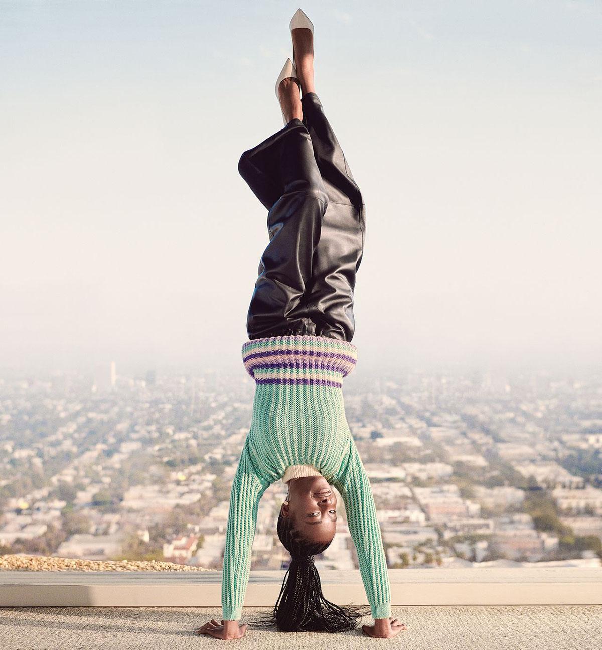 Amanda Gorman covers WSJ. Magazine Fall 2021 by Cass Bird