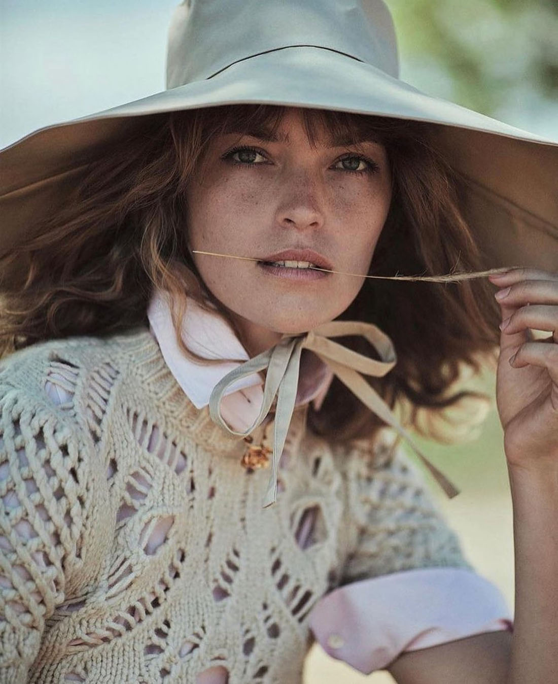 Arizona Muse covers Elle Spain September 2021 by Mario Sierra
