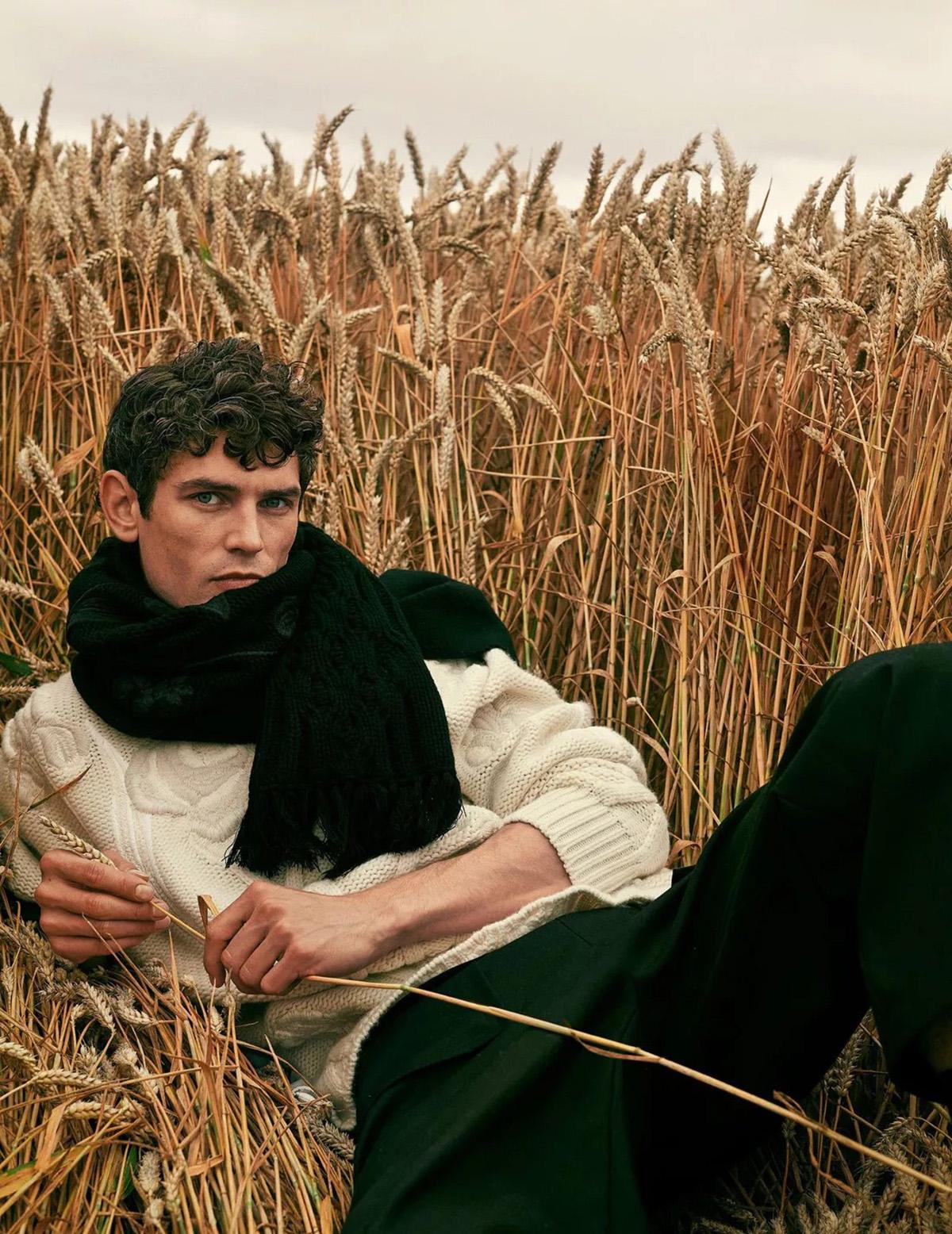 Arthur Gosse and Jester White by Zeb Daemen for Madame Figaro September 17th, 2021