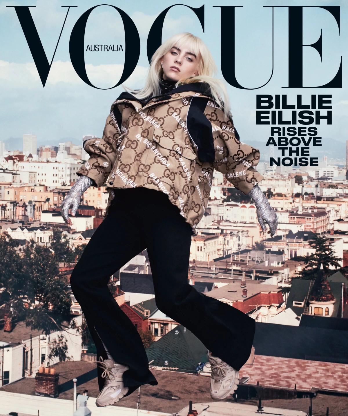 Billie Eilish covers Vogue Australia August 2021 by Emma Summerton