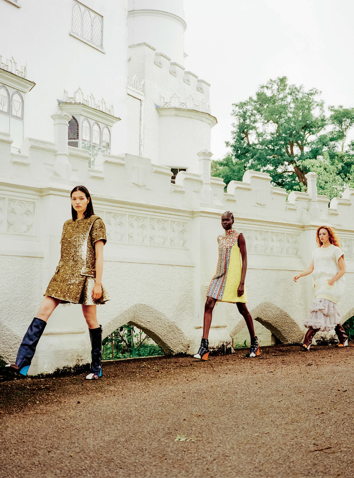''Castles In The Sky'' by Danny Kasirye for The Sunday Times Style September 12th, 2021