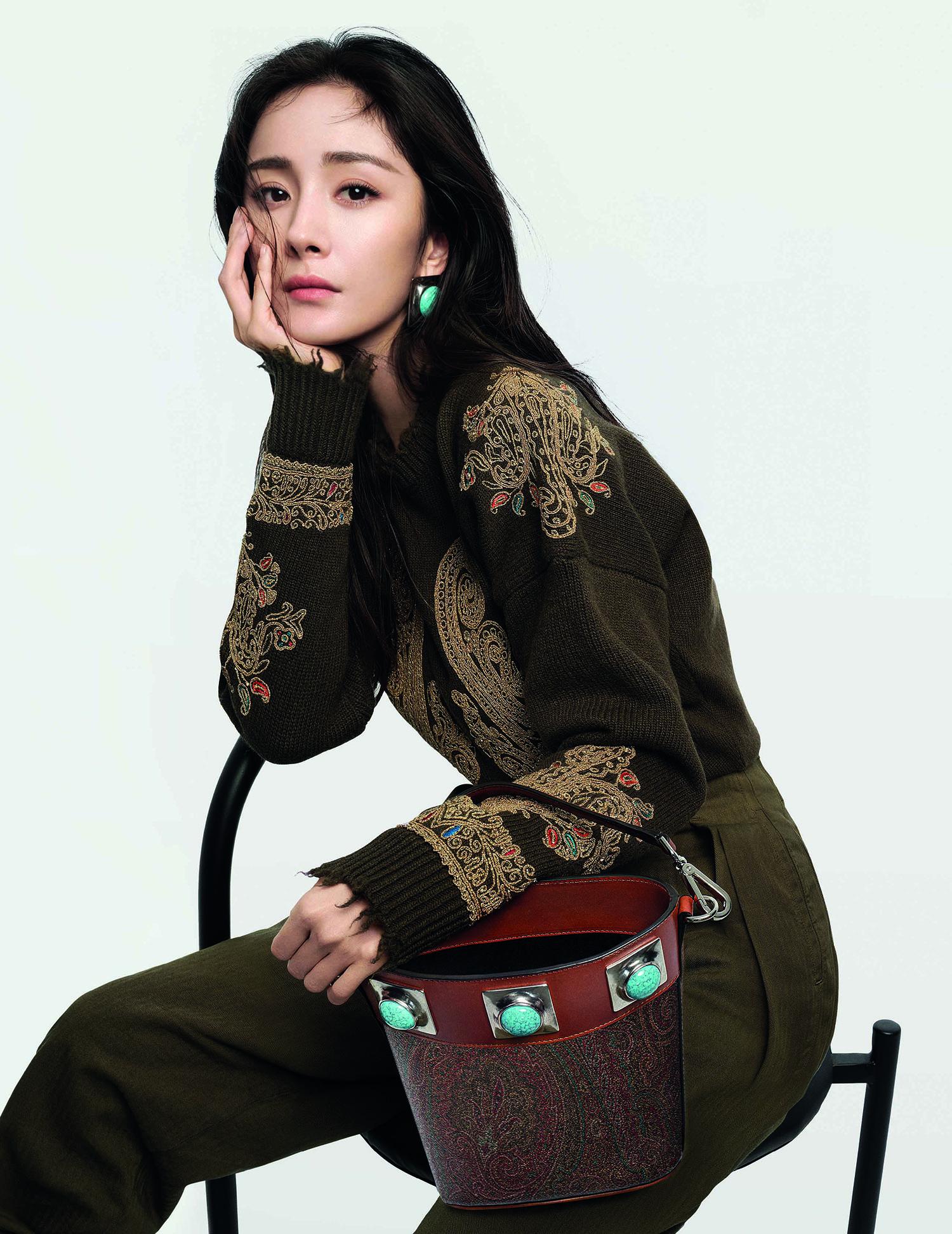 Etro names Yang Mi as its new global ambassador