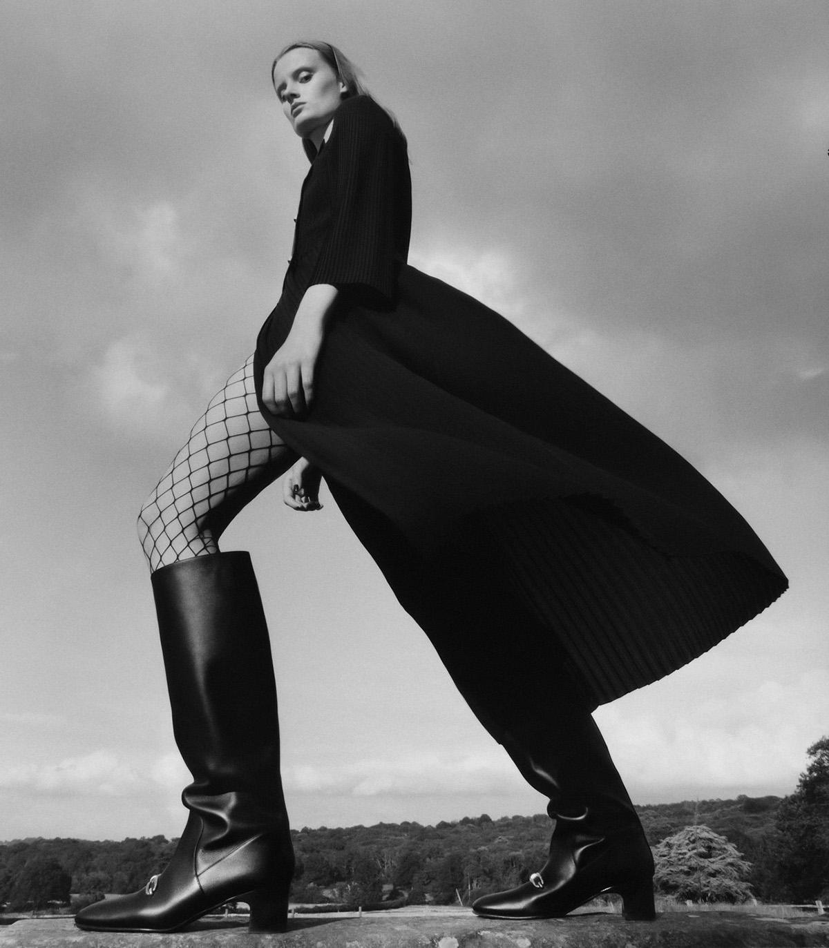 Evie Saunders by Samuel Bradley for WSJ. Magazine Fall 2021