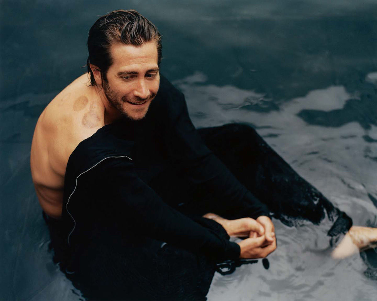 Jake Gyllenhaal covers The Sunday Times Style September 26th, 2021 by Renell Medrano