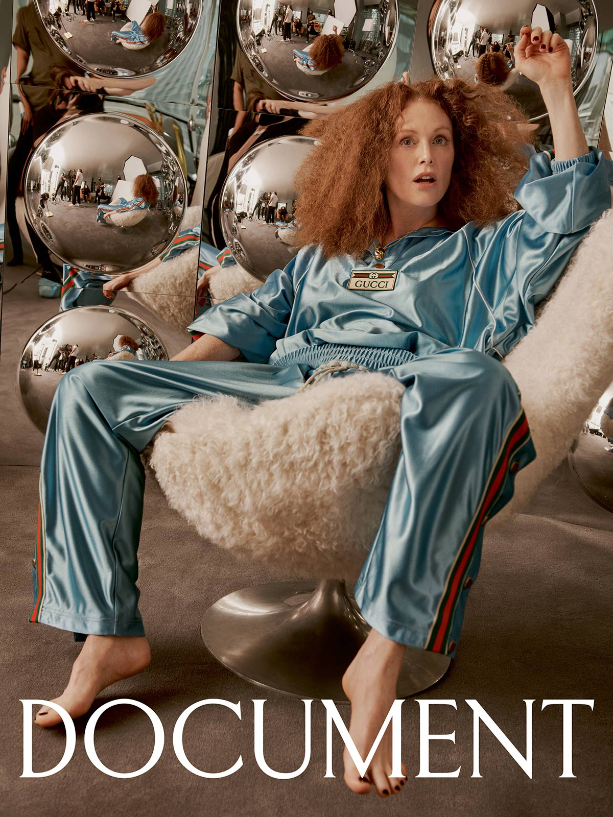 Julianne Moore covers Document Journal Summer Pre-Fall 2021 by Craig McDean