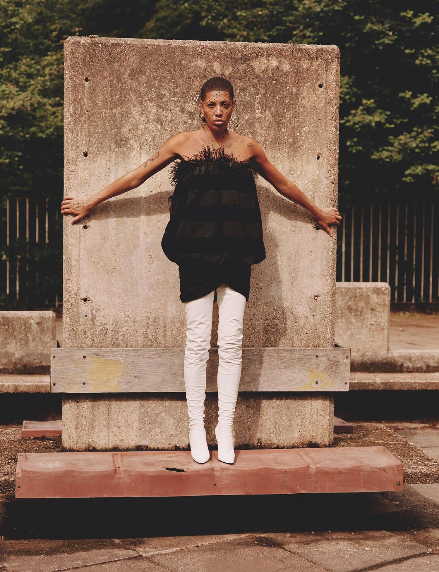 Kai-Isaiah Jamal by Alasdair McLellan for British Vogue September 2021